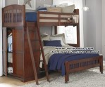 Tempat Tidur Susun Kamar Anak Kayu Jati
