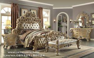 Tempat Tidur Ukiran Mewah Jepara Modern Klasik Furniture