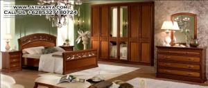 Set Kamar Tidur Apartement Mewah Modern