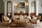 Set Ruang Tamu Mewah Ukiran Jepara Klasik