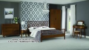 Set Kamar Minimalis Jati Cocok Untuk Apartemen