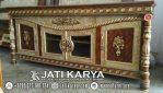 Bufet Jati Ukir Karya Jepara