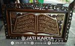 Kaligrafi Jati Ukir Karya Jepara