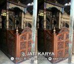 Mimbar Masjid Jati Karya Furniture