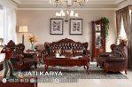 Sofa Kursi Tamu Ukiran Mewah Jati Jepara