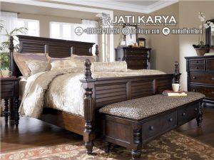 Tempat Tidur Jati King Size