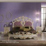 Set Tempat Tidur Ukiran Klasik Cleo Cat Duco