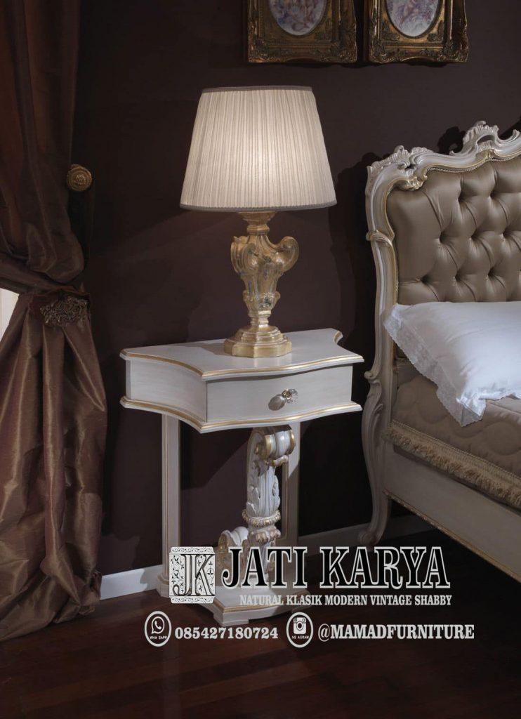 Detail Meja Lampu Minimalis Ukir Set Tempat Tidur Minimalis Ukiran Mewah Jati Karya