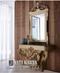 Meja Consolle Ukiran Mewah Design Classic