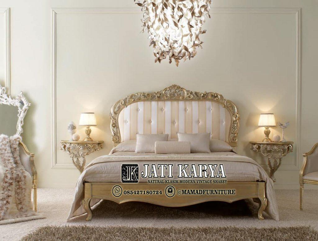 Set Tempat Tidur Jepara Ukir Mewah