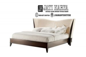 Set Tempat Tidur Minimalis Jati Jepara Modern
