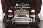 Set Tempat Tidur Minimalis Modern Ukiran Mewah Jati Karya