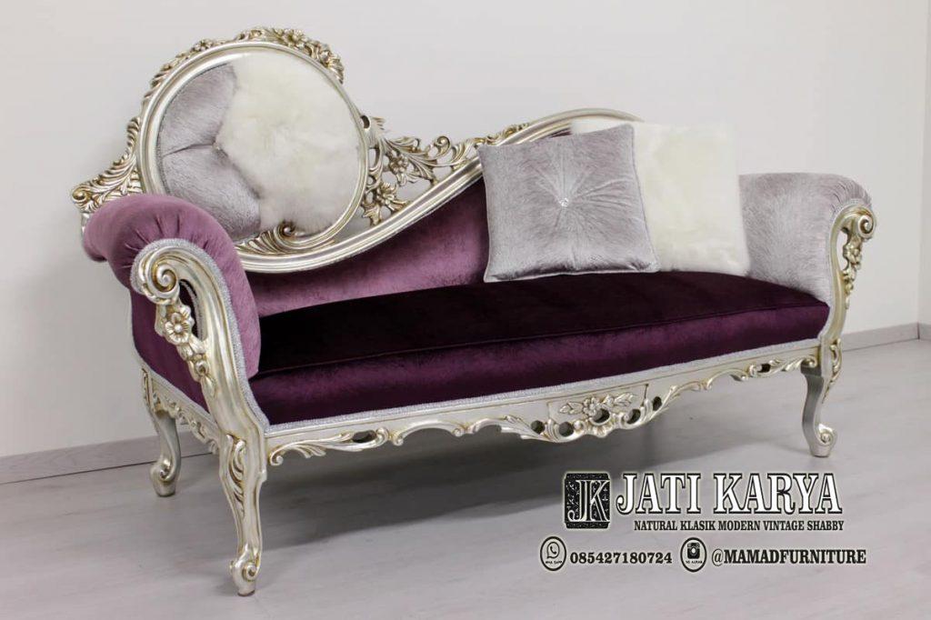 Sofa Santai Ukiran Klasik Jepara Mewah