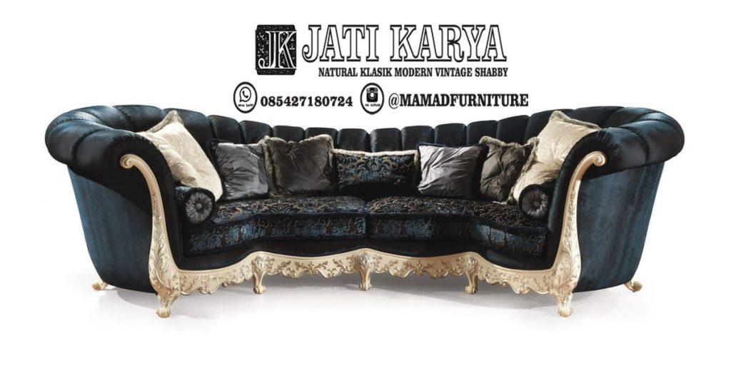 Sofa Ukiran Modern Klasik Jati Jepara
