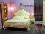 Tempat Tidur Jasmine Ukiran Mewah Jepara