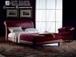 Tempat Tidur Jok Kulit Modern Furniture jepara