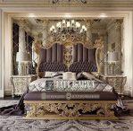 Set Kamar Tidur King Mewah Ukiran Relief