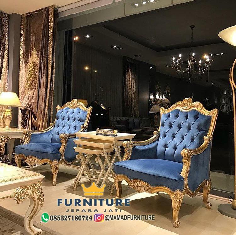 Kursi Sofa Santai Ukiran Mewah New Design