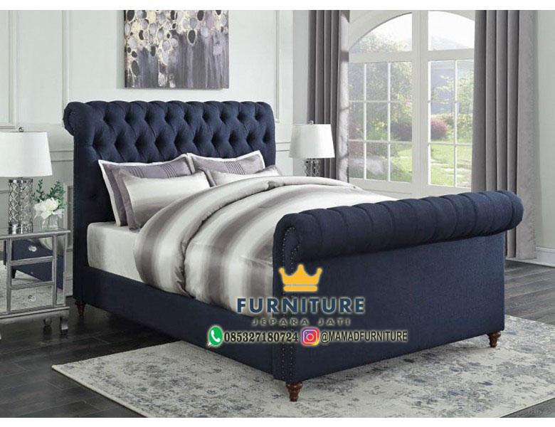 Set Tempat Tidur Minimalis Modern Jepara